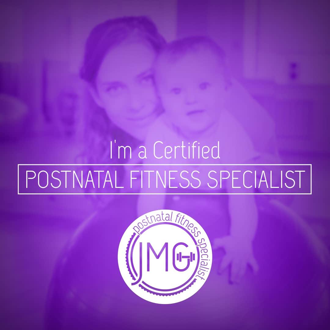 Postnatal Fitness Specialist Certification Badge