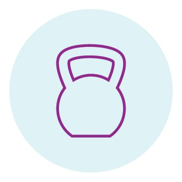 Kettlebell icon for Postpartum Personal Training