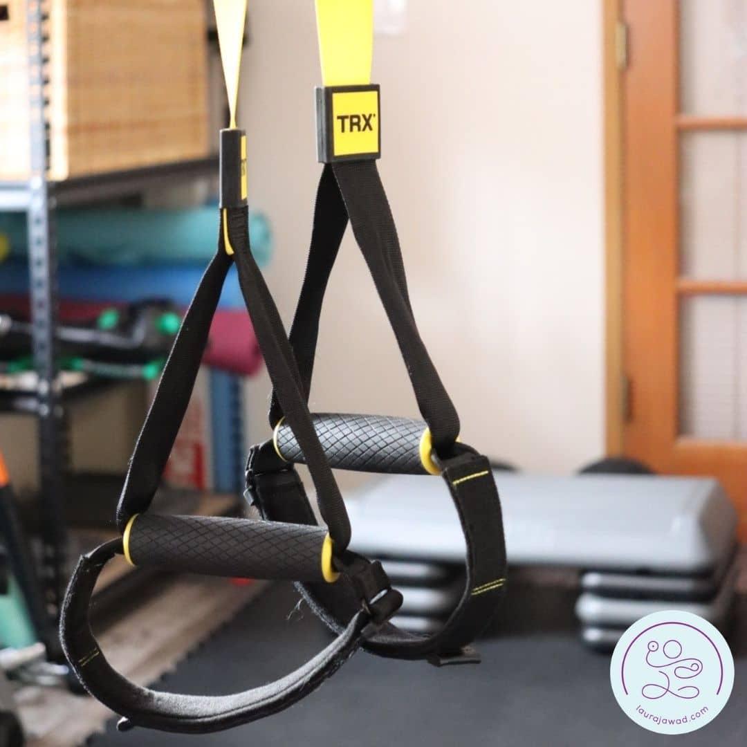 TRX suspension trainer handles