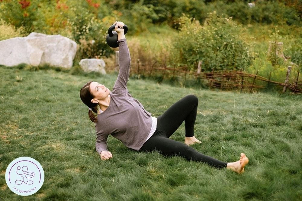 4 Effective Turkish Get-Up Variations to Use in Pregnancy and Postpartum