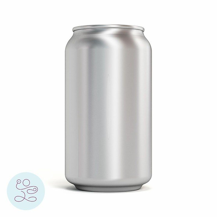 Soda can representing the inner core canister