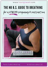 No BS Guide to Breathing for a Strong Pregnancy and Postpartum, ebook cover