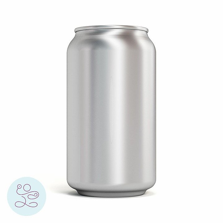 Pop can as an analogy to inner core canister